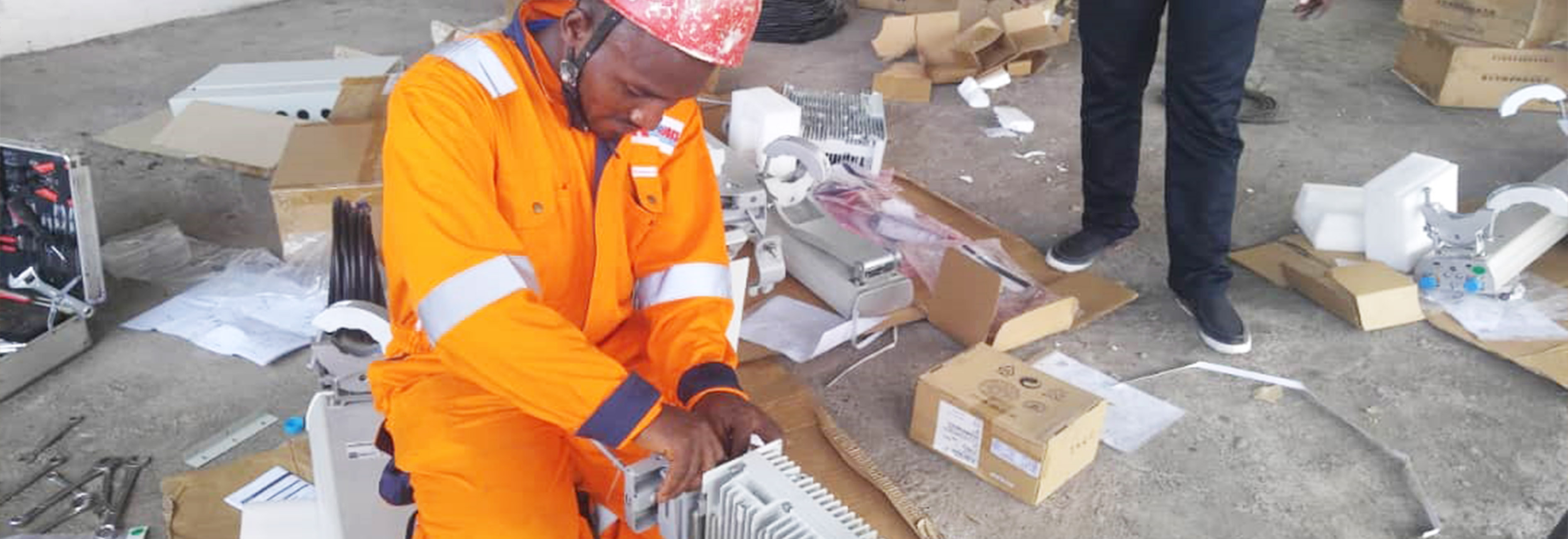 Afose Works Completes 2G-3G-MW Transmission Project in War-torned Region.